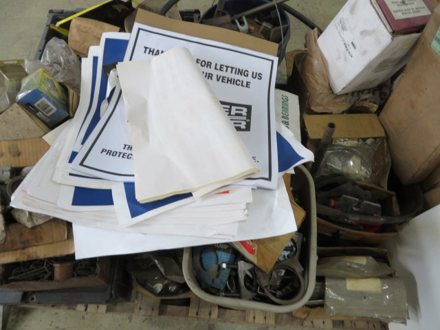 MISCELLANEOUS AUTO AND TRUCK PARTS (WHEEL WEIGHTS, MISC. GASKETS & CLAMPS, FILTERS, CHASSIS PARTS, - Image 4 of 20