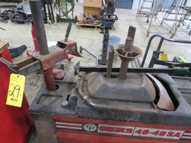 COATS 40-40SA TIRE CHANGER (LOCATED IN LUMBERTON,NJ) - Image 2 of 2