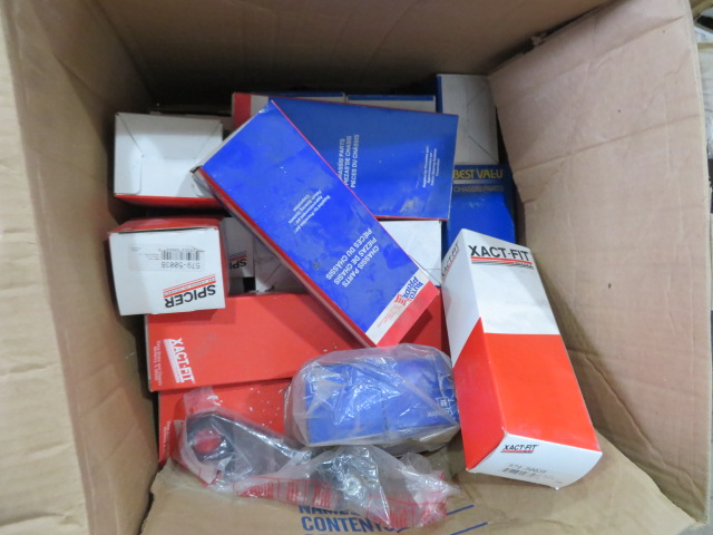 MISCELLANEOUS AUTO AND TRUCK PARTS (WHEEL WEIGHTS, MISC. GASKETS & CLAMPS, FILTERS, CHASSIS PARTS, - Image 19 of 20