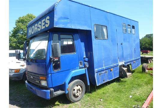 Iveco Ford Cargo 0813 7 5t Horsebox 40 000 Kms K378 Mgc