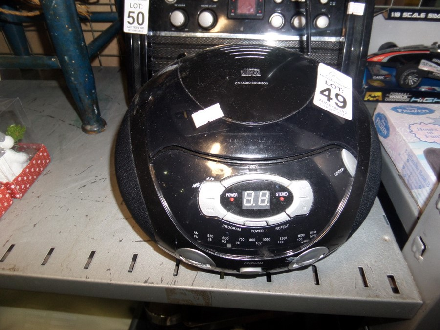 Lot 49 - CD PLAYER