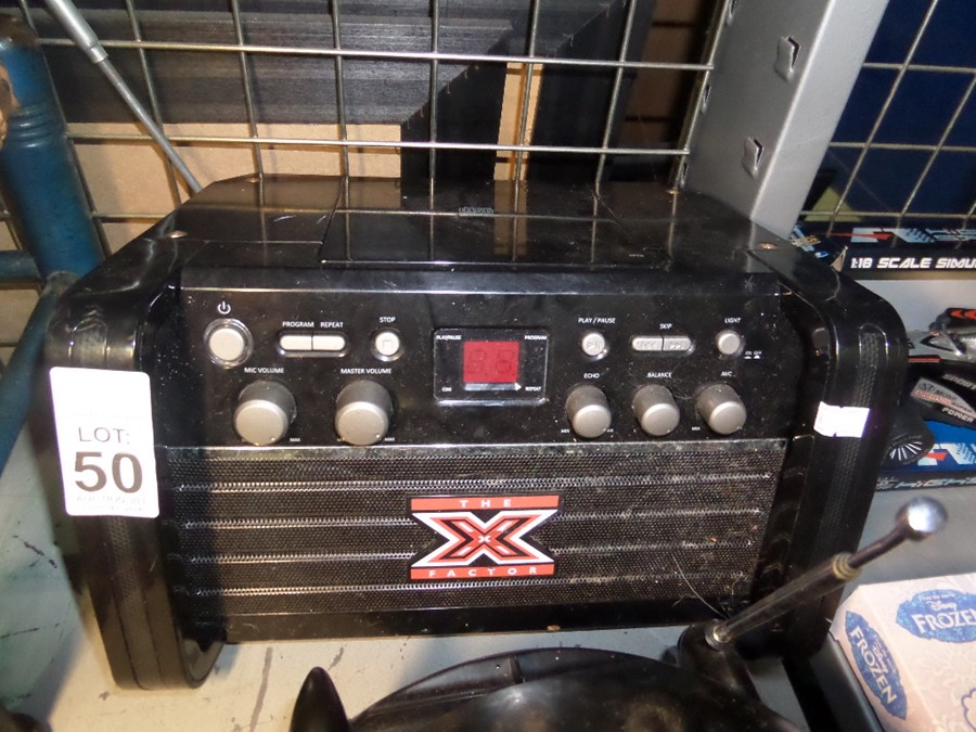 Lot 50 - X FACTOR GAME