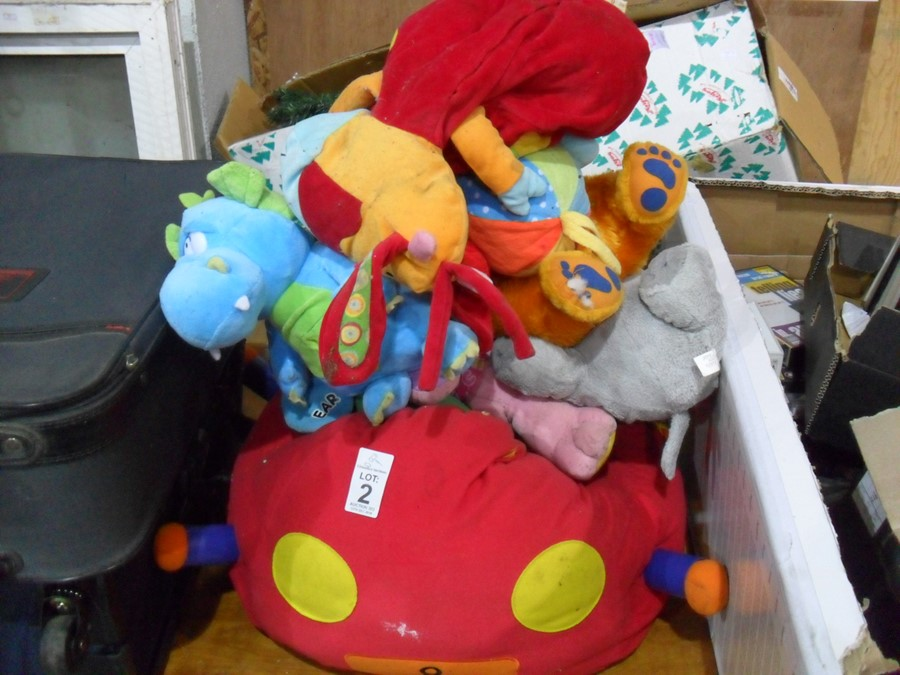 Lot 2 - JOB LOT OF CHILDRENS TOYS