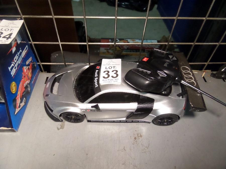 Lot 33 - AUDI SPORT REMOTE CONTROL CAR SHOP CLEARANCE