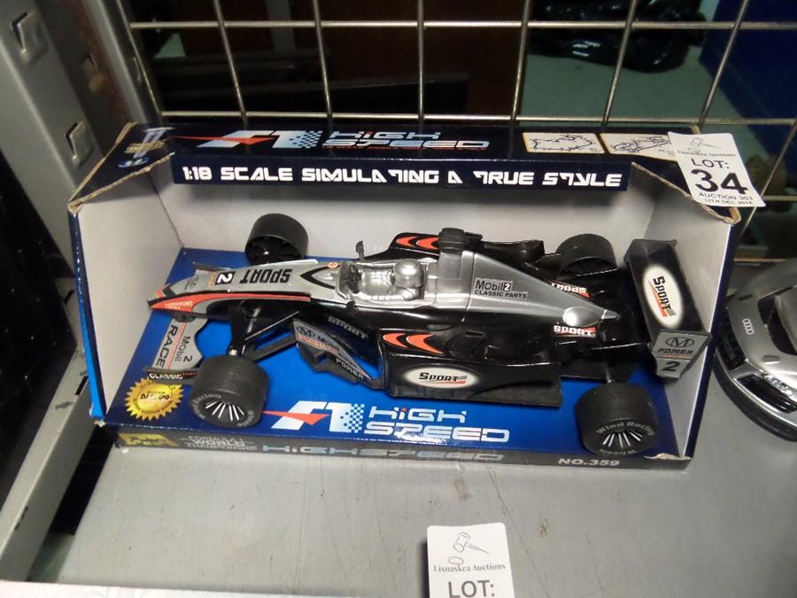 Lot 34 - FORMULA 1 MODEL CAR SHOP CLEARANCE