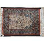 zijde tapijt 140 x 95