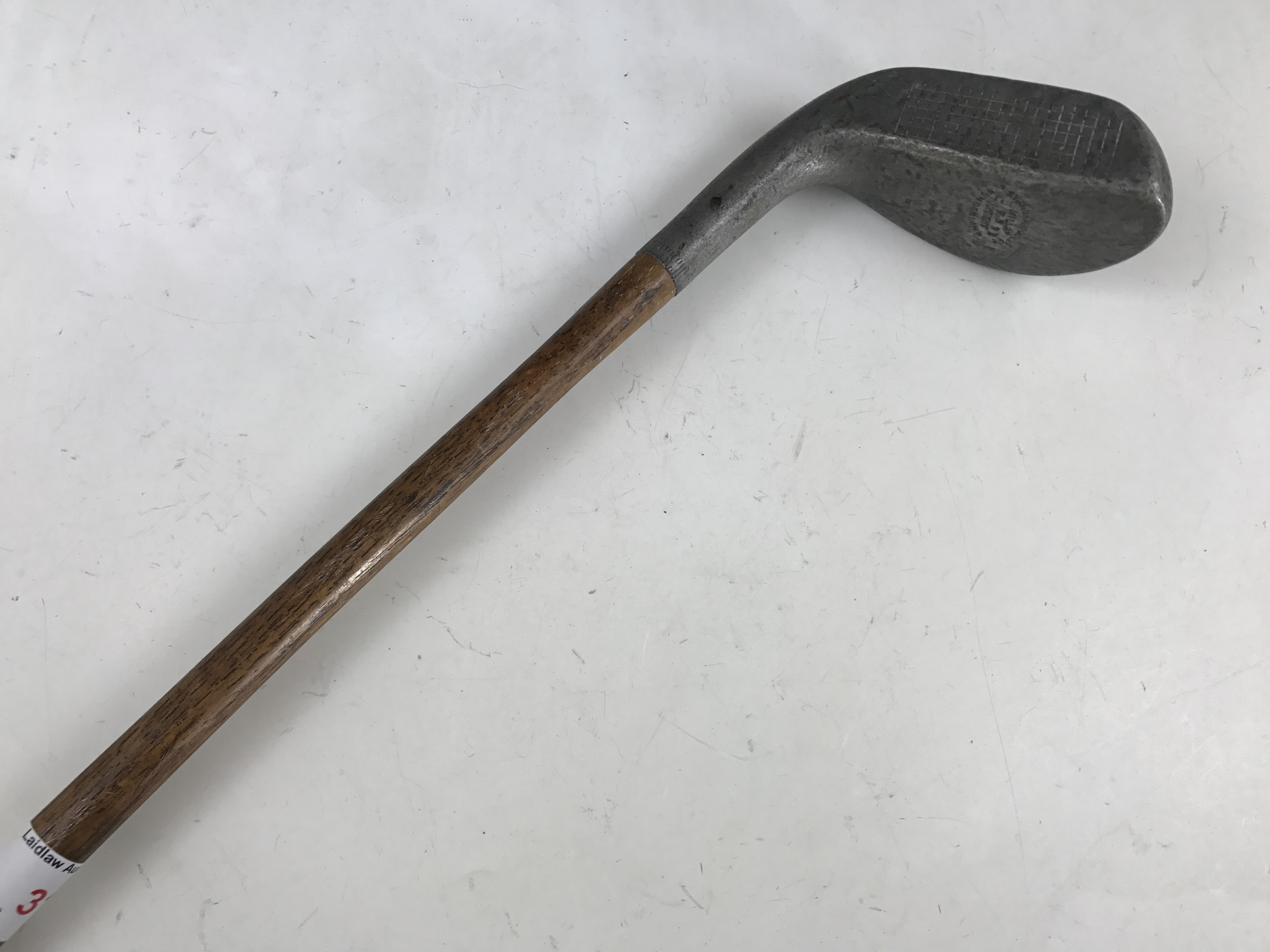 Lot 31 - A Standard Golf Co of Sunderland Braid-Mills Upright Lie putter, early 20th Century