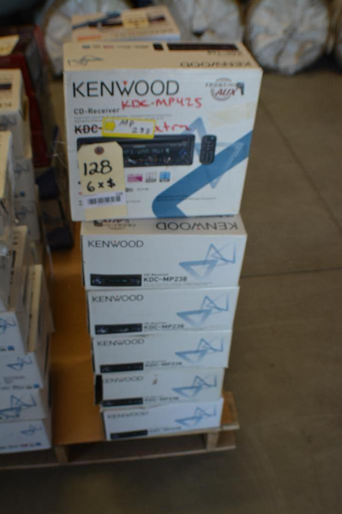 Kenwood Car Stereo Model KDC-MP238 CD receiver - in-dash unit - Front Aux. (Some stereos not in orig