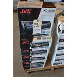 JVC Car Stereo Model KD-R530. CD-Receiver + Ready for Bluetooth + USB and Aux. (Some Stereos not in