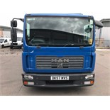 MAN 7.154 TGL Curtain sider 2007