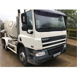 White DAF Truck FAT CF75.360 + VAT