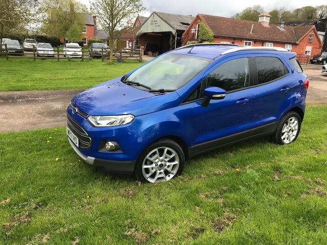Ford Eco Sport Titanium TDCI 2017 (NO VAT) - Image 9 of 30