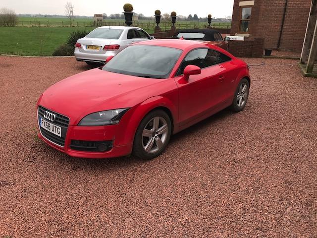 Lot 3 - Audi TT FSI