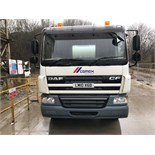 White DAF Trunk CF