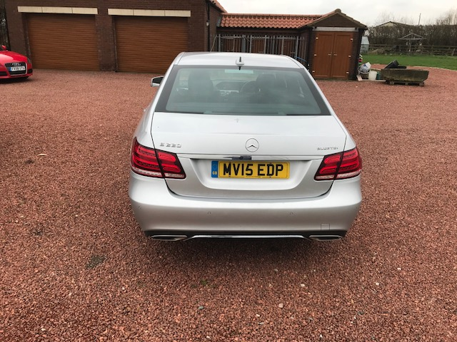 Lot 1 - Mercedes Benz E220 SE Bluetec Auto