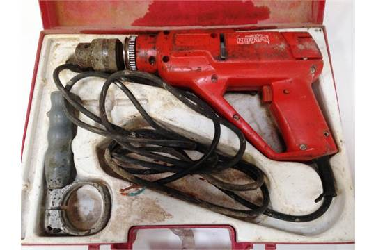 Perna By Hilti 2 Speed Percussion Drill In Case 240V VAT Vat Is
