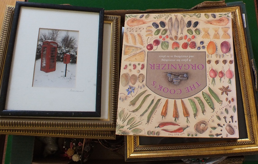 Lot 45 - Three boxes of wood and other sundries,