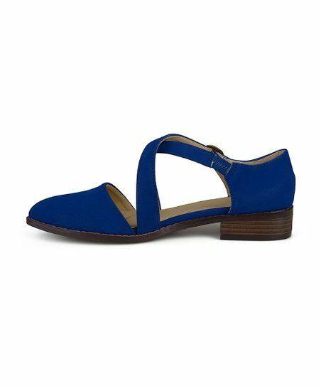 Lot 55 - Bella Cora Blue Elina Flat (Uk Size:5/Us Size:7.5) (New With Box) [Ref: 52534235-H-002]