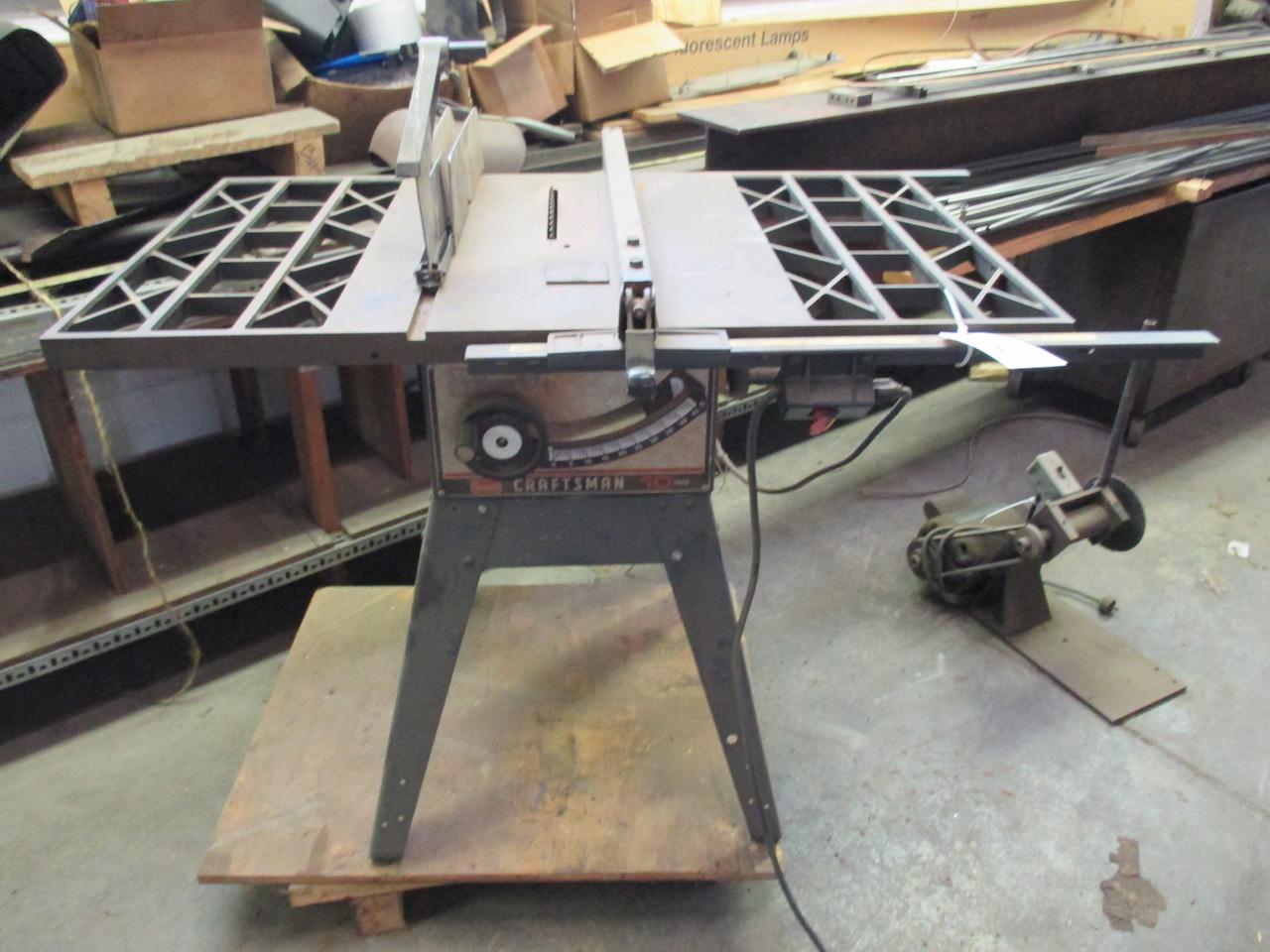 craftsman 3hp table saw manual
