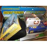 Box of toys to include Corgi