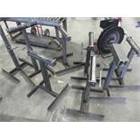 Roller T-stands, adjustable height, QTY 8