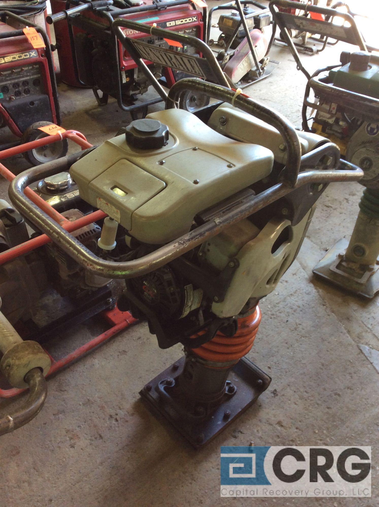 MultiQuip MTX60 jumping jack tamper with Honda GX100 motor, 418 hours - Image 2 of 4