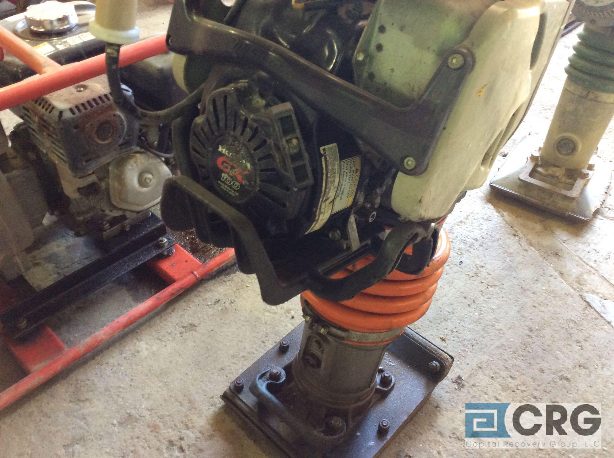 MultiQuip MTX60 jumping jack tamper with Honda GX100 motor, 418 hours - Image 4 of 4