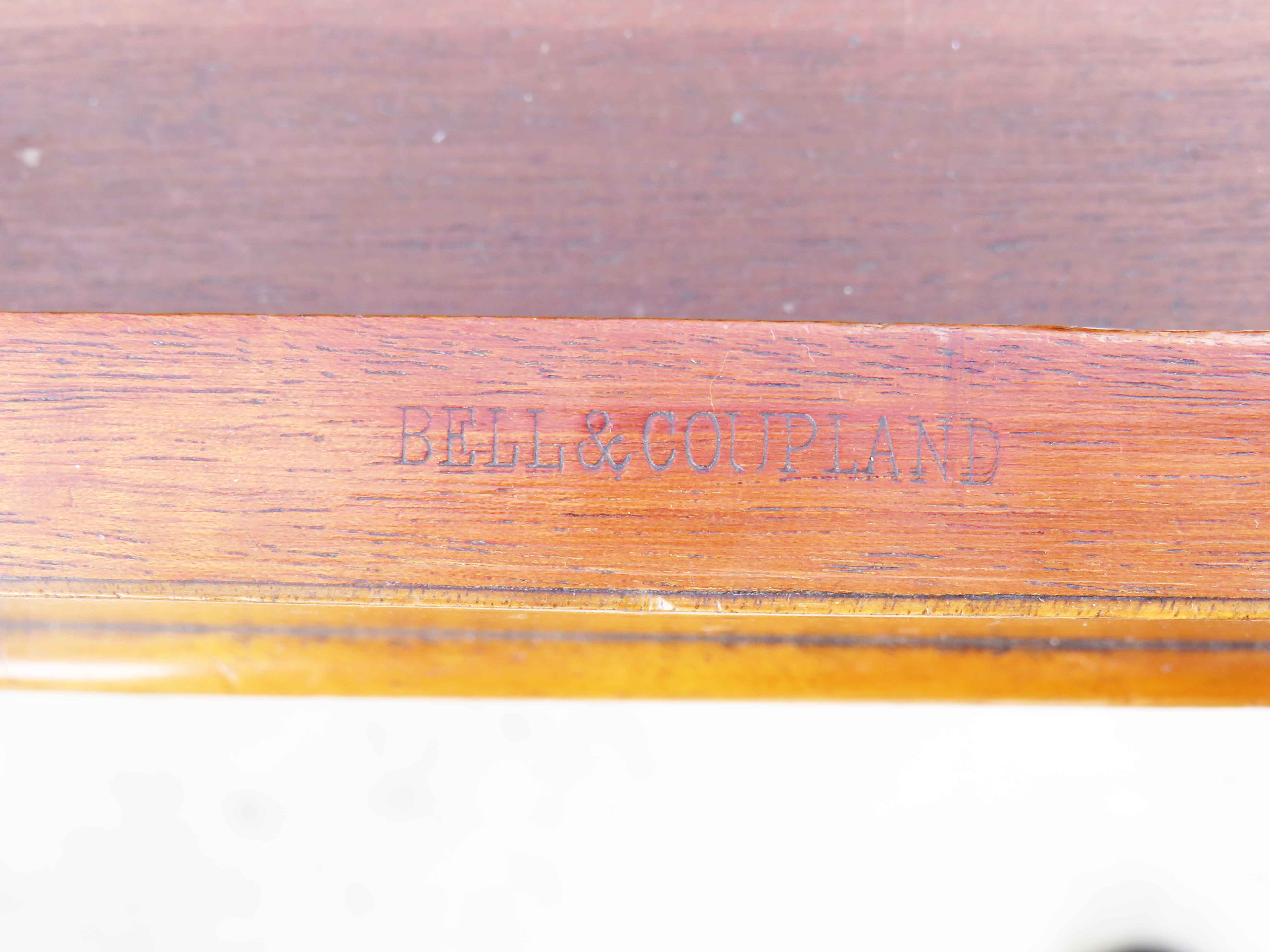 Mid 19th Century walnut and burr elm library table - Image 8 of 9