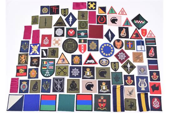 Quantity of Modern British Army TRF Patches, including