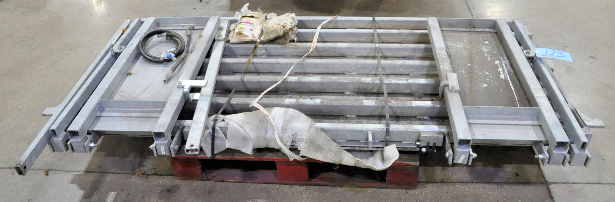 Waltco Aluminum Truck Lift Gate Assembly on (1) Pallet