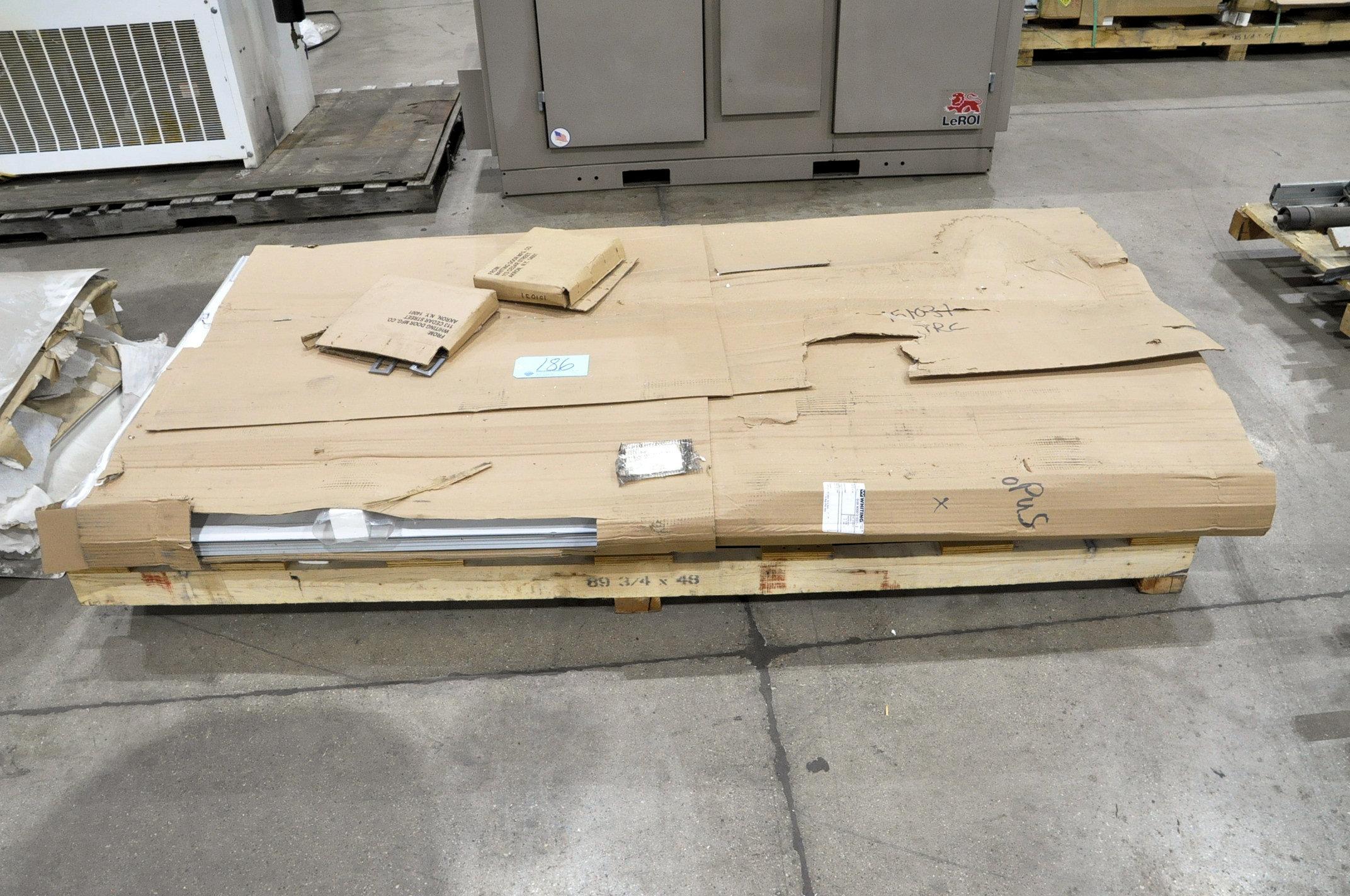 Lot-Overhead Truck Door Panels on (1) Pallet