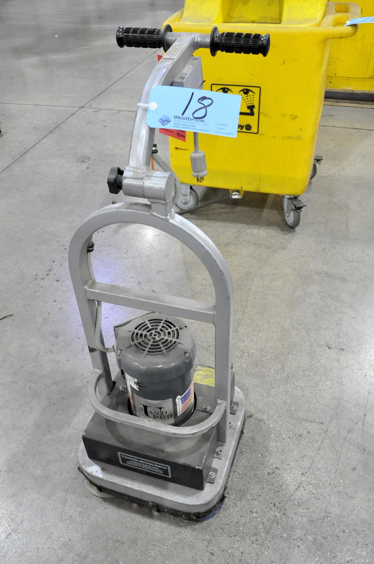 Sand Pro 1 1/2-HP Walk Behind Floor Sander