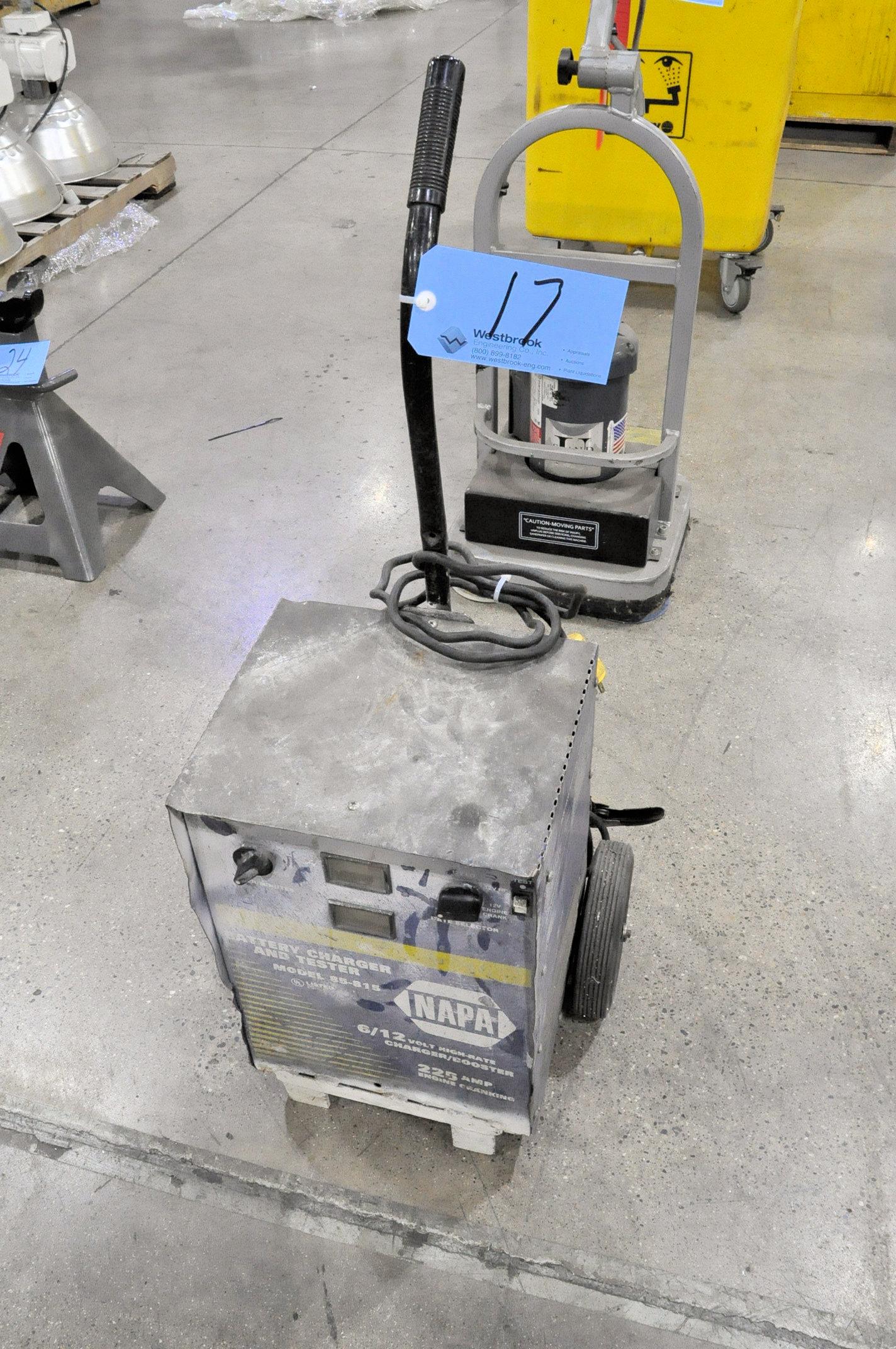 Napa Model 85-815, 225-Amp Capacity 6/12-Volt Portable Battery Charger