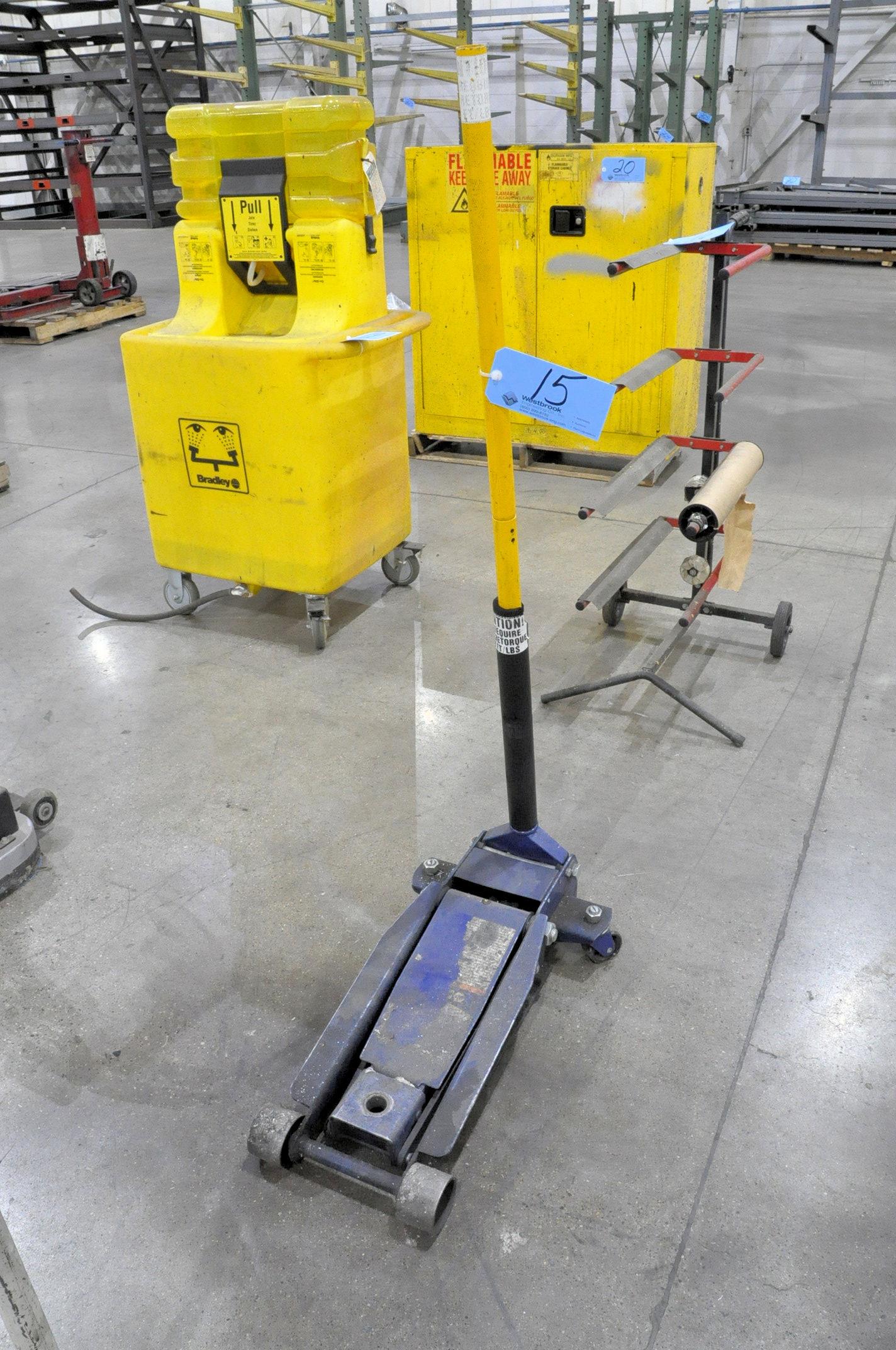 Approx. 2-Ton Capacity Hydraulic Floor Jack