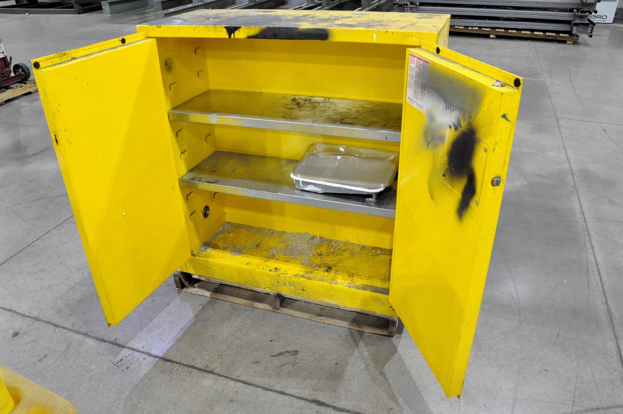 Durham Mfg. 2-Door Safety Cabinet - Image 2 of 2
