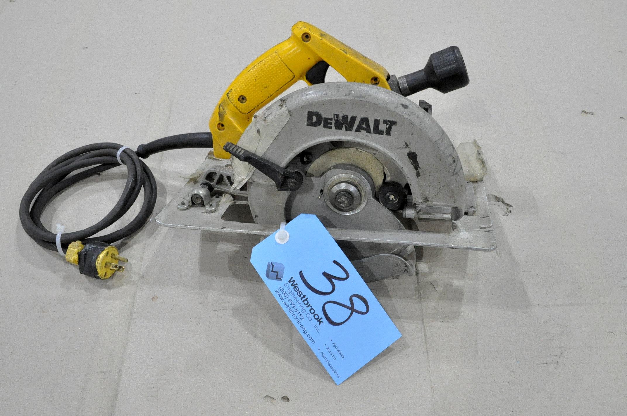 """DeWalt 7 1/4"""" Circular Saw"""