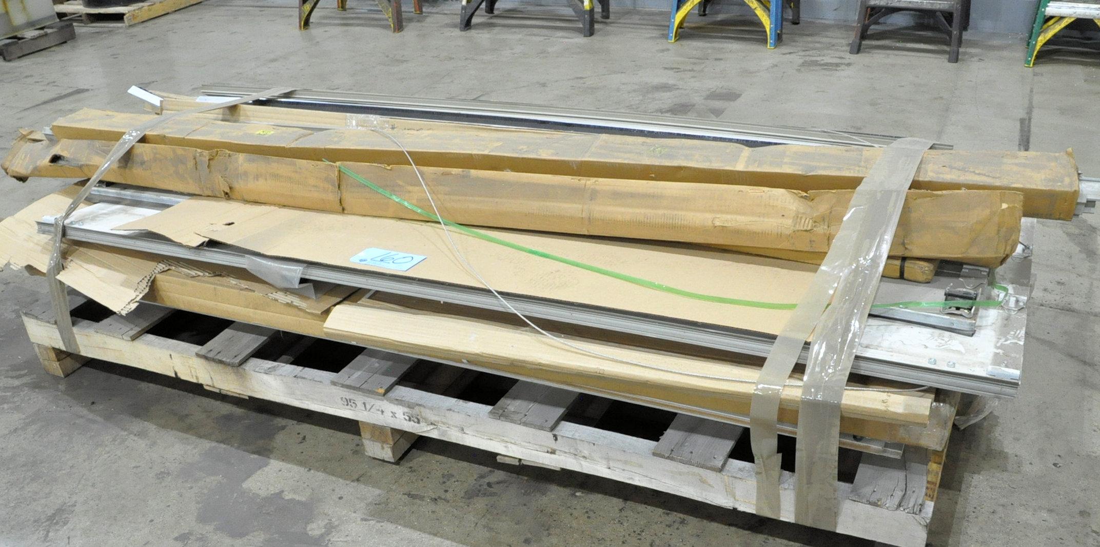 Dis-Assembled Roll Up Overhead Truck Door on (1) Pallet