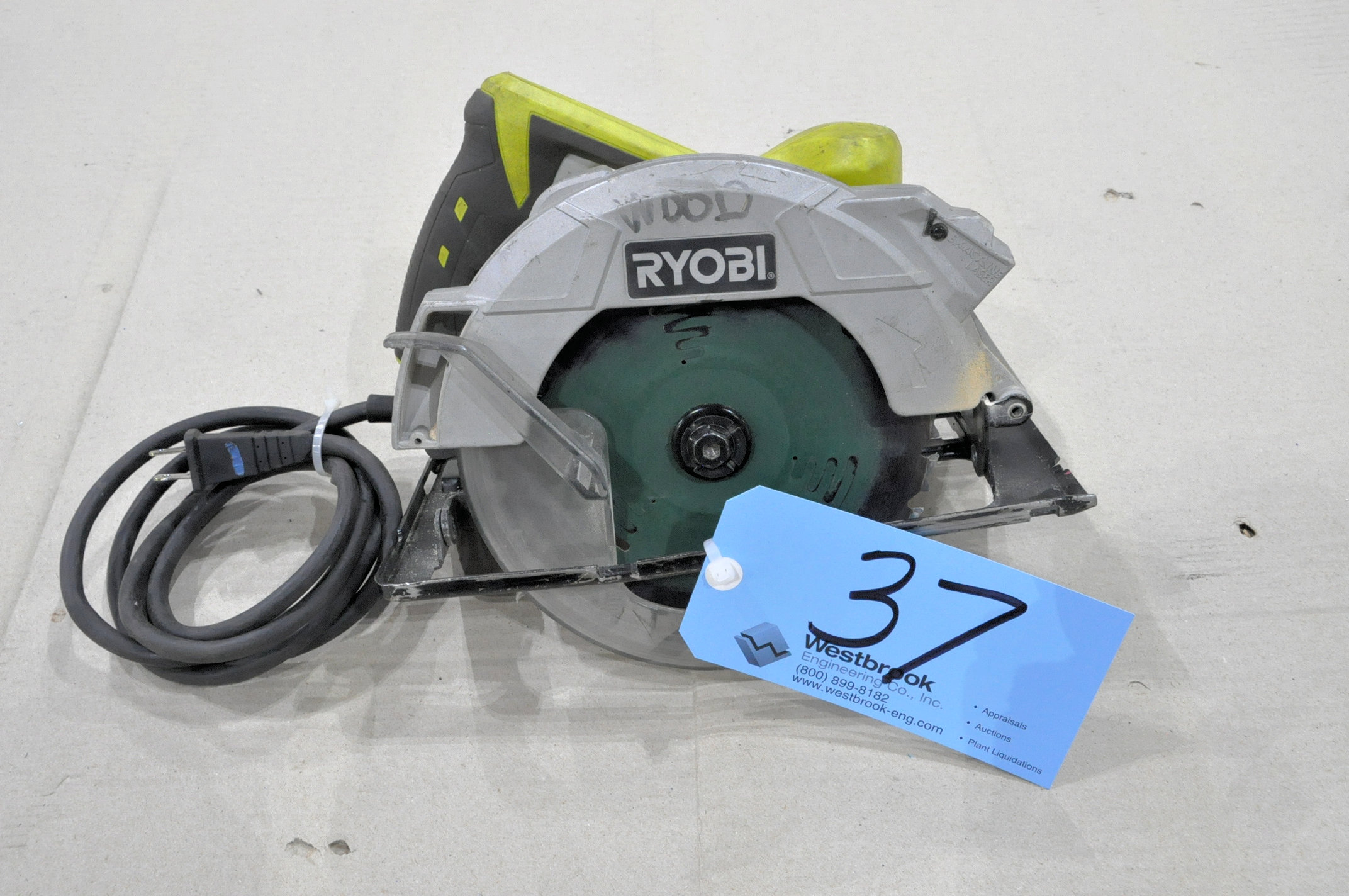 "Ryobi 7 1/4"" Circular Saw"