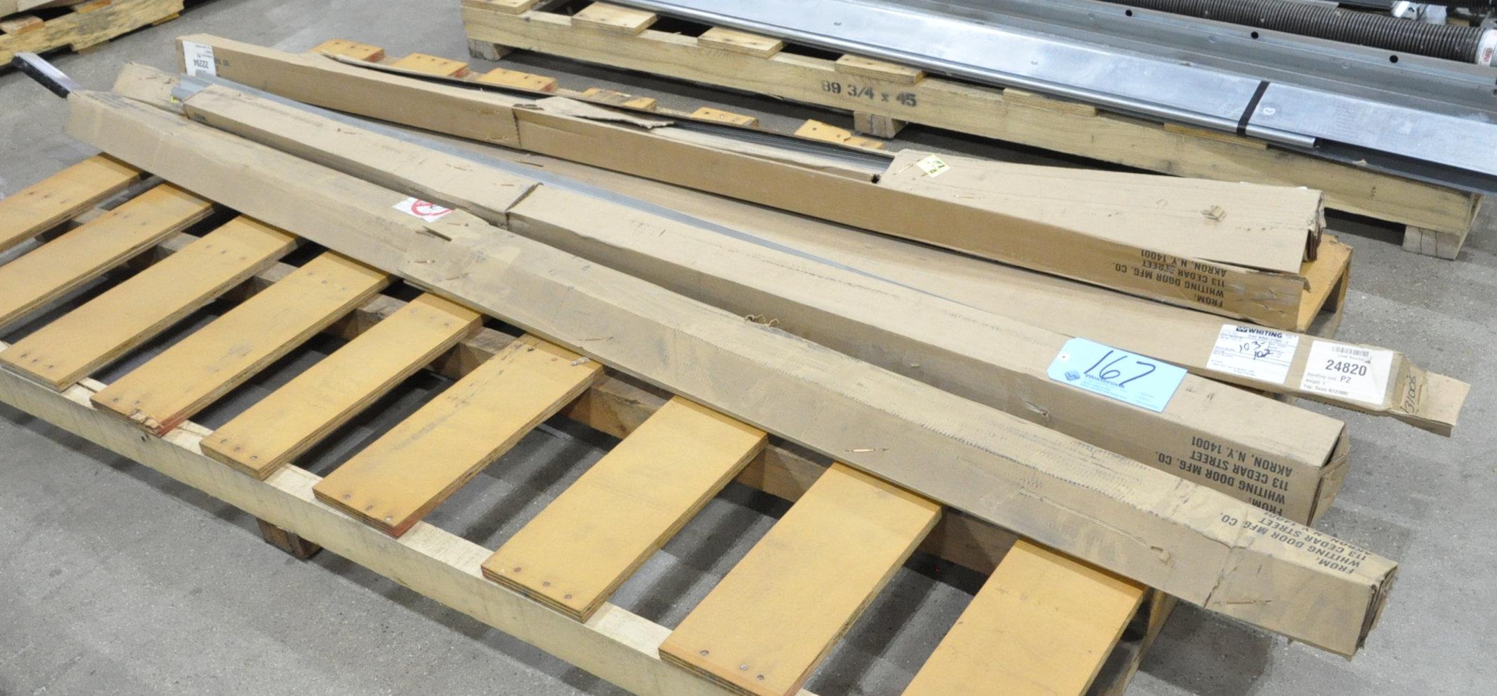 Lot-Overhead Truck Door Seals on (1) Pallet