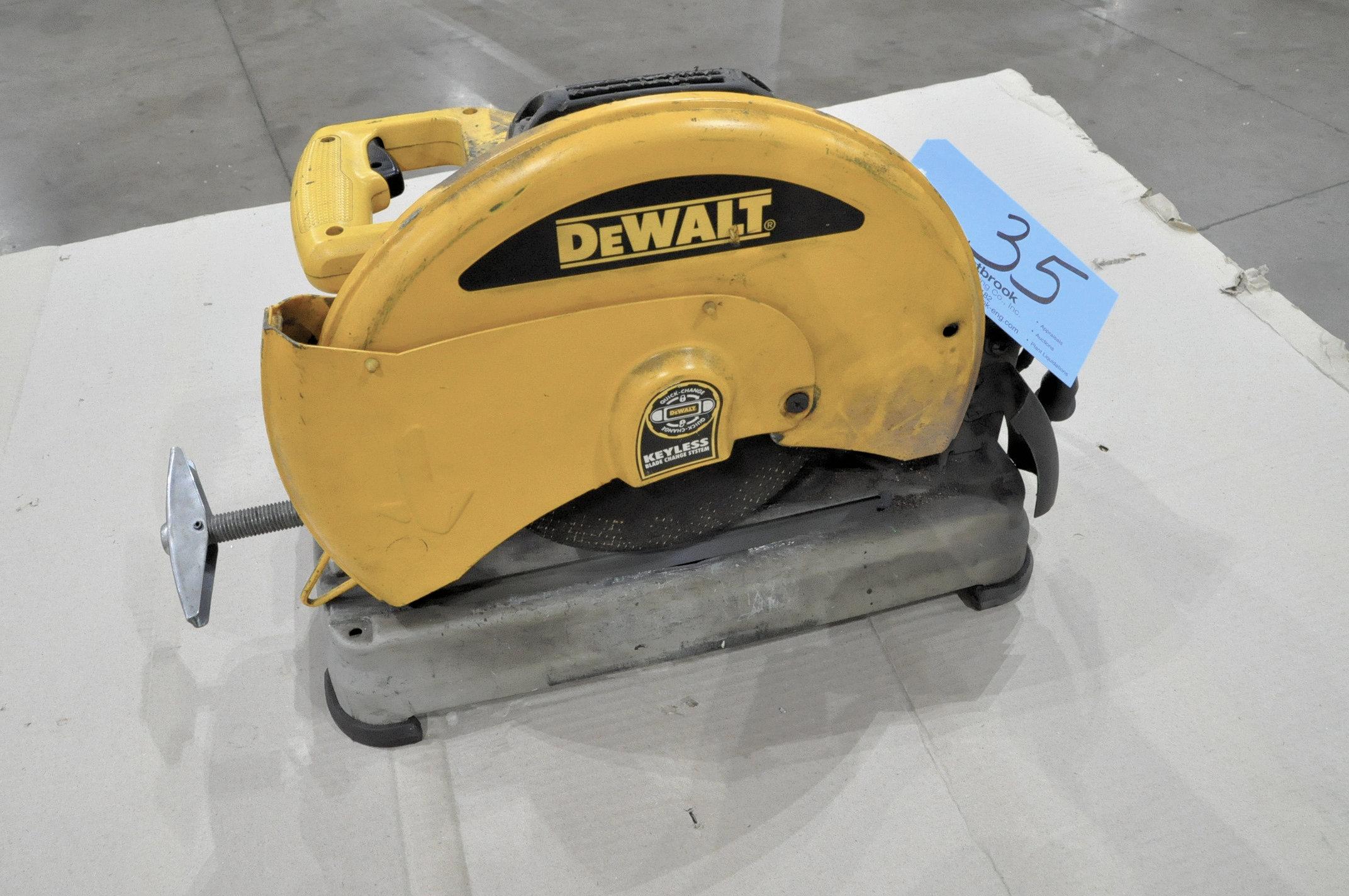 """DeWAlt D28715, 14"""" Abrasive Cutoff Saw"""
