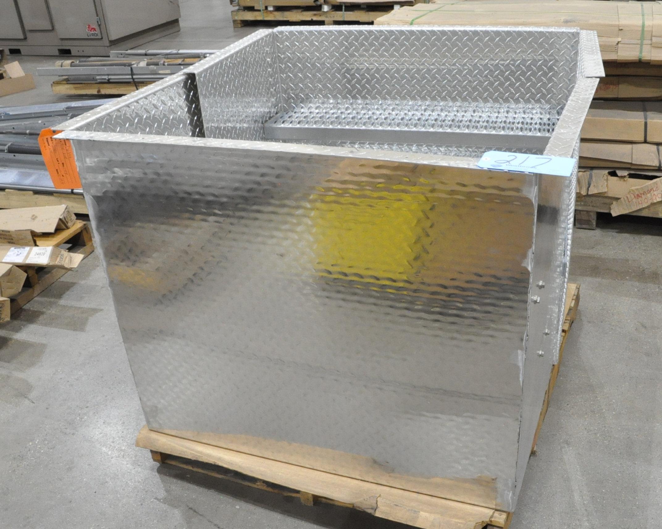 Lot-(2) Aluminum Diamond Plate Step Assemblies on (1) Pallet