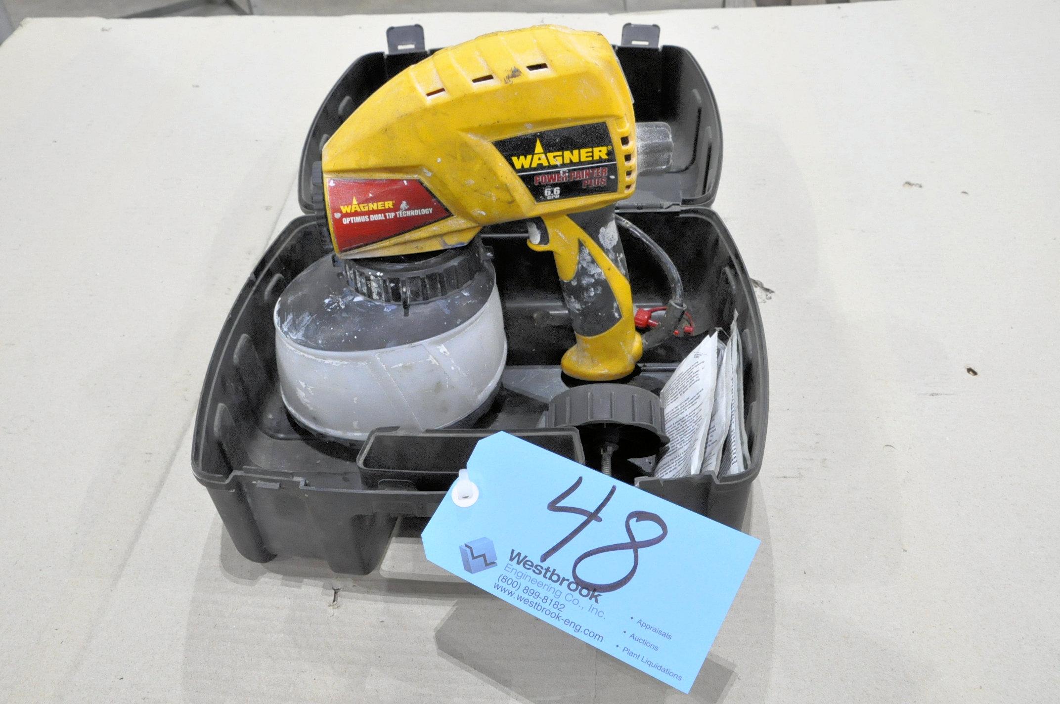 Wagner Power Painter Plus, 6.6 GPH Electric Airless Hand Held Sprayer