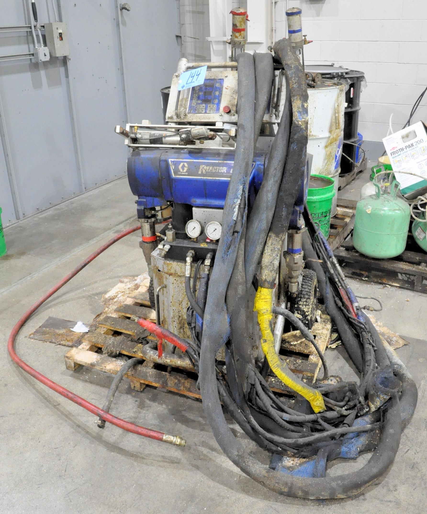 Graco Reactor Model E-30, Foam Application System