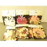 13 x packs of 50 per pack various Designs Perfect Petals Die Cuts Flowers RRP £1.99 each new see