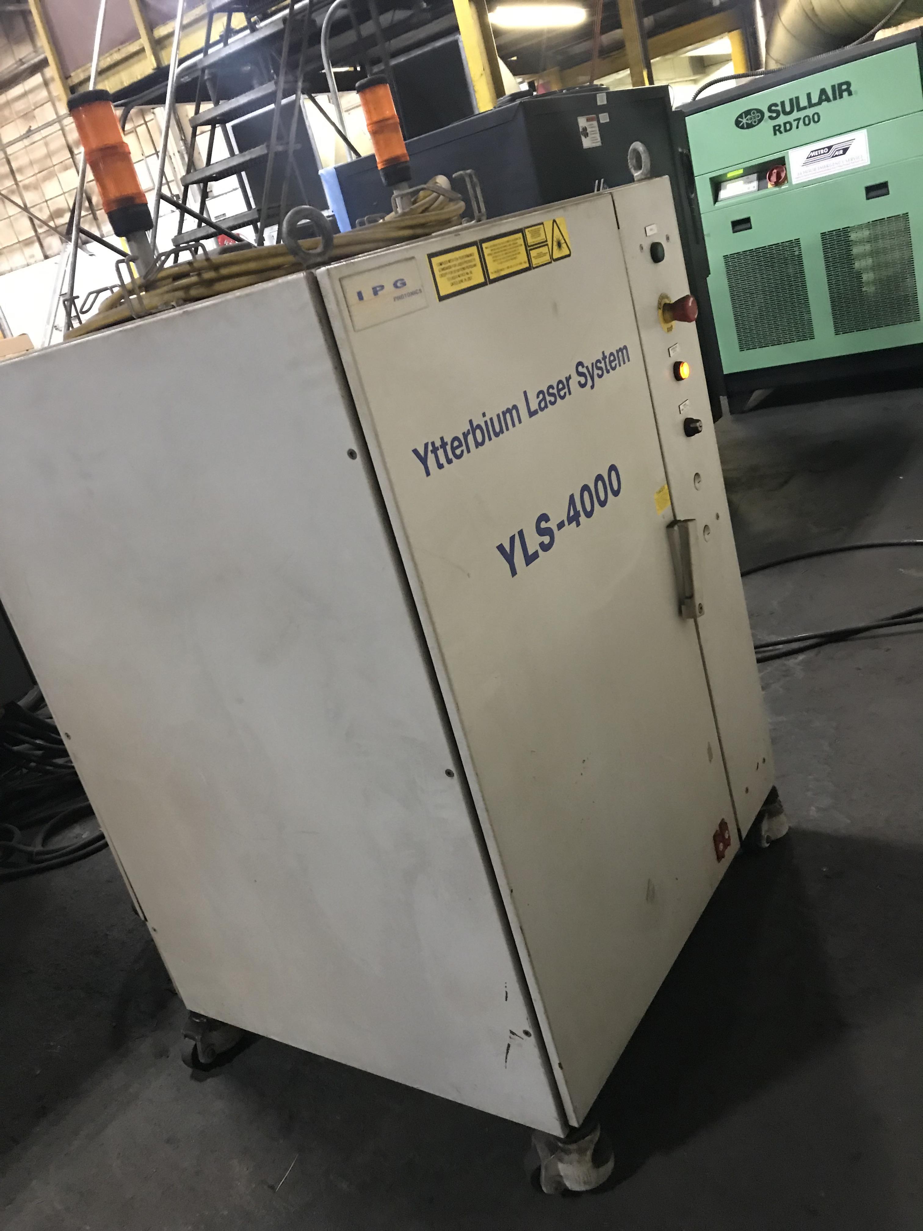 Cincinnati CL940 Fiber Laser, 4,000 Watt, 5' x 10' Dual Pallets, Chiller, Dust Collector, Low Hours - Image 3 of 7