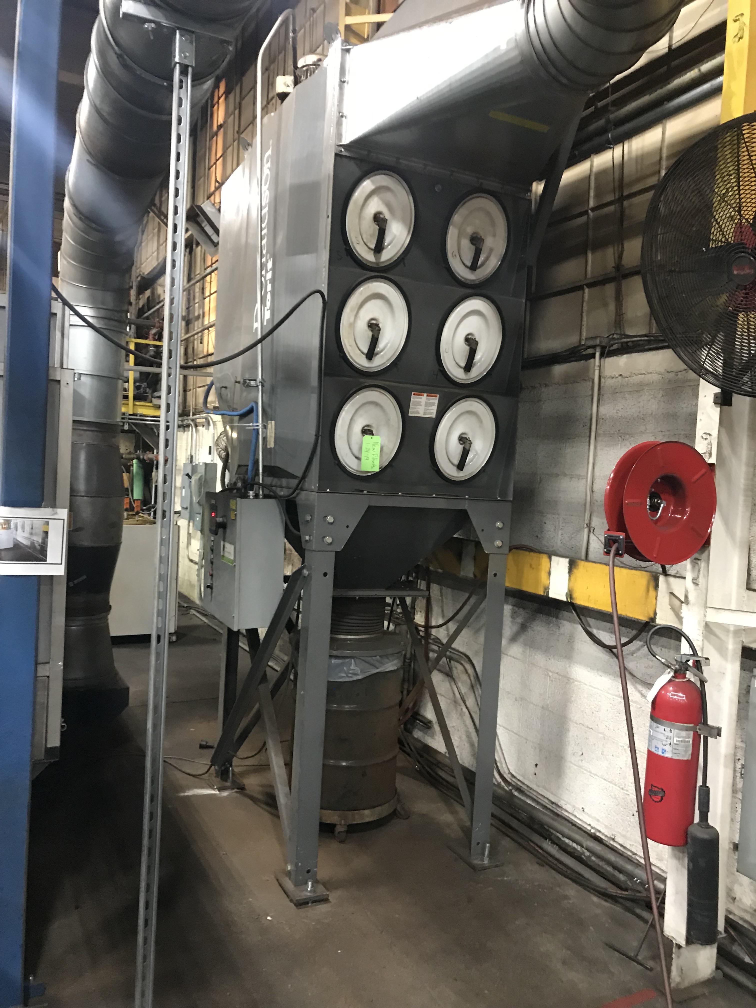 Cincinnati CL940 Fiber Laser, 4,000 Watt, 5' x 10' Dual Pallets, Chiller, Dust Collector, Low Hours - Image 4 of 7