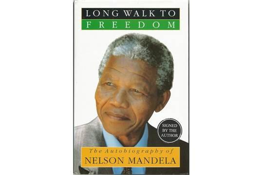 nelson mandela autobiography book