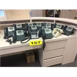 LOT OF (13) CISCO, SPA508G, 8-LINE, IP PHONE WITH DISPLAY, POE AND PC PORT, (1) VTECH, TELEPHONE AND