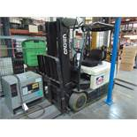 Crown mod. SC4000 Series, 2,250lb Cap. Electric Forklift, 36 Volt w/ Charger (Hours n/a); S/N