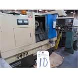 Takamatsu mod. EM-2A, CNC Turning Center w/ Fanuc System 6T Controls; S/N 85001503